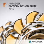 AutodeskAutodesk Factory Design Suite 2016 套裝產品
